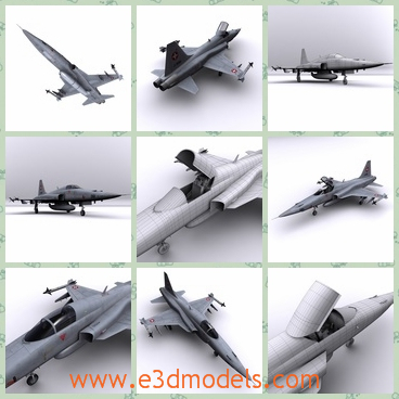 3d model an plane of swiss - This is a 3d model about the Swiss Air Force,which is less complex and advanced but significantly cheaper to procure and operate, and the type became a popular aircraft on the export market.