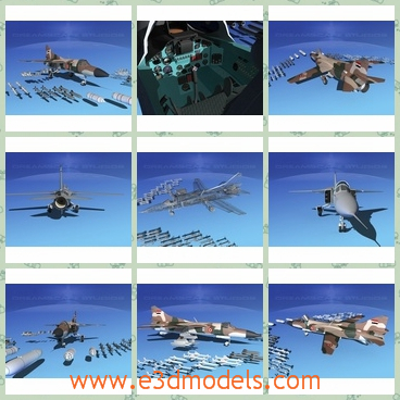 3d model the aircraft in the army - This is a 3d model of the aircraft in the army,which is large and dagerous.The model is made by a famous creator.
