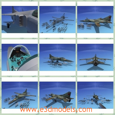 3d model the airplane of Soviet - This is a 3d model of the airplane of Soviet,which is made in China and the model is used largely in the war.