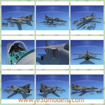 3d model the fighter in the army - This is a 3d model of the fighter in the army,which is large and dangerous.The model is the automatic one.