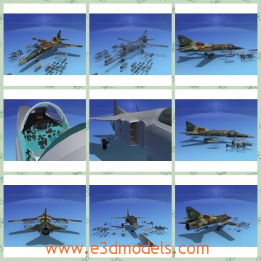 3d model the jet in the military - This is a 3d model of the jet in the limitary,which is the bomber that can be used to harm others.
