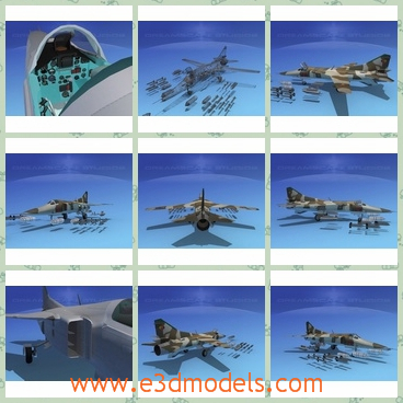 3d model the jet on the ground - This is a 3d model of the jet on the ground,which is produced in India by Hindustan.The model is practical.