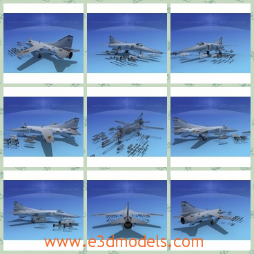 3d model the Russian aircraft - This is a 3d model of the Russian aircraft,which is the most powerful weapon in the military.