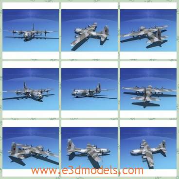 3d models of c 130 Hercules V17 RAF - There are some 3d models about a military plane.Its control surfaces are animateable as well as landing gear, landing gear doors and the cargo door. This model is built very near to scale, is fully textured and comes with all materials and textures as shown.