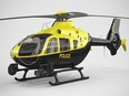 3d model a police helicopter