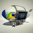 3d model the aircraft for advertising