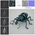 3d model the blue beetle