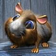 3d model the cartoon hamster