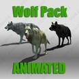 3d model the wolf
