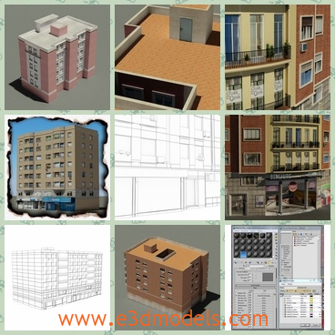 3d model the buildings ready to sell - This is a 3d model of the buildings for sell,which is built recently and the price is not so high .