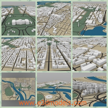 """3d model the cityscape of Washington - This is a 3dmodel of the cityscape of Washington,which is large and arranged.The Washington, D.C., formally the District of Columbia and commonly referred to as Washington, &quotthe District"""", or simply D.C., is the capital of the United States."""