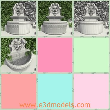 3d model the fountain - Share and Download 3D Models at e3dmodels com
