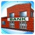 3d model the bank building