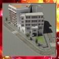 3d model the Europea building
