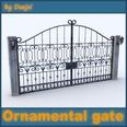 3d model the gate in fine shape