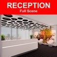 3d model the luxury lobby