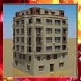3d model the modern building