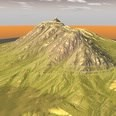3d model the mountain