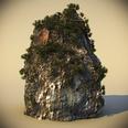 3d model the rocks on Thailand