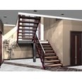 3d model the staircase