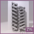 3d model the steel stair