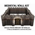 3d model the stone wall