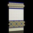 3d models of Mediterranean capri tiles