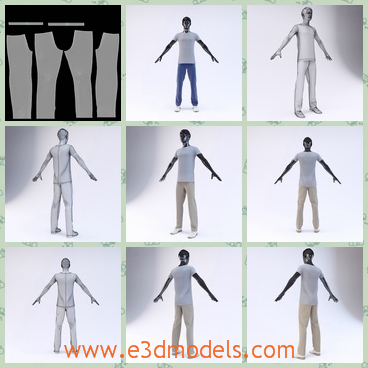 3d model the male mannequin in the showroom - This is a 3d model of the male mannequinint the showroom,which is a high quality model to add more details and realism to your projects.