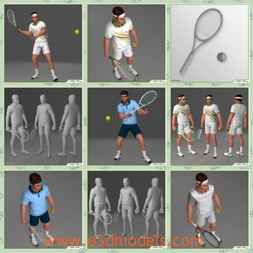 Tennis court 3d model 3ds max files free download modeling 198.