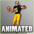 3d model the football player