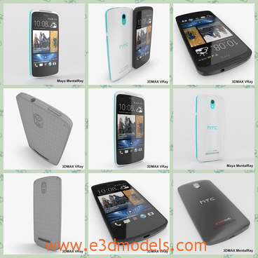 3d model the black phone of HTC - This is a 3d model of the black phone of HTC,which is popular in China.The model is the famous brand of China and very popular amongst young people.