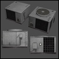 3d model the air conditioner