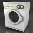 3d model the washing machine