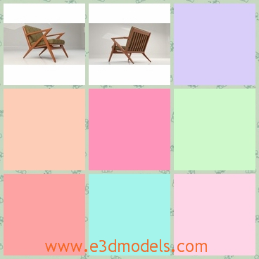 3d model of Kennedy chair - Share and Download 3D Models at