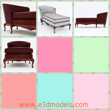 3d model the armchair - This is a 3d model of the armchair,which is covered with grey color on the surface.The model is decorated with a cushion.