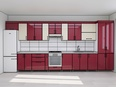 3d model a kitchen in Eurppean style