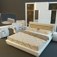 3d model the bedroom