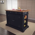 3d model the black cabinet in the kitchen