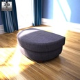 3d model the footstool