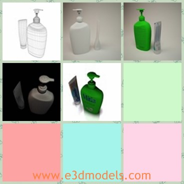 3d model the soap pump - Share and Download 3D Models at