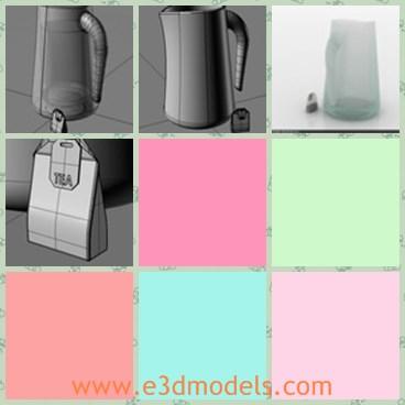 3d model the tea bag - Share and Download 3D Models at