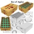 3d model the apples