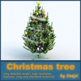 3d model the christmas tree