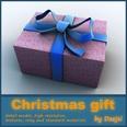 3d model the gift box