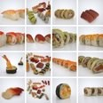 3d model the Sushi food