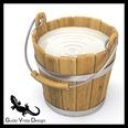 3d model the wooden bucket