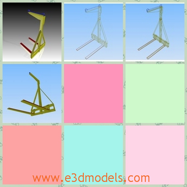 3d model a lifter that can be adjustable - This is a 3d model about an adjustable lifter,which is is thin but strong and the holder is made of real steel.