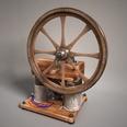 3d model antique crank generator