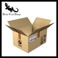 3d model the cardboard box