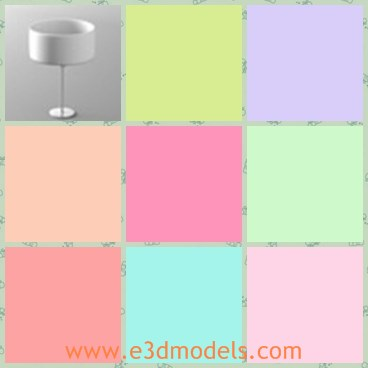 3d model the lamp - This is a 3d model of the lamp,which is modern and made with good quality.